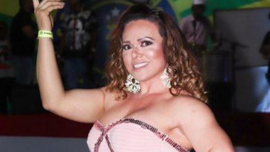 Foto de Andréa Capitulino comemora duplo reinado no Carnaval