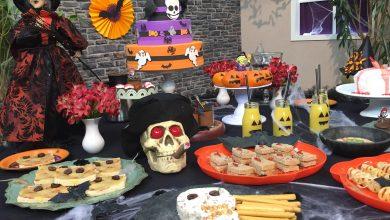 Foto de Halloweené comemorado na Rede Brasil de Televisão