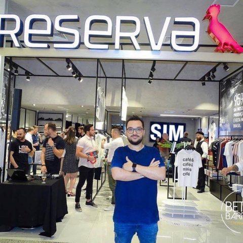 Reserva nomeia influenciadores da marca em Blumenau
