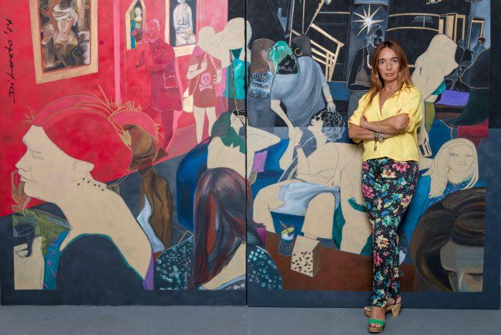 Arte internacional na Vinícola Villa Francioni