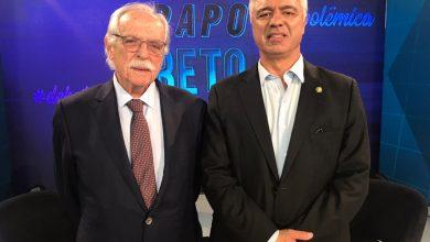 Foto de Major Olímpio estreia o programa Papo Reto na Rede Brasil de Televisão
