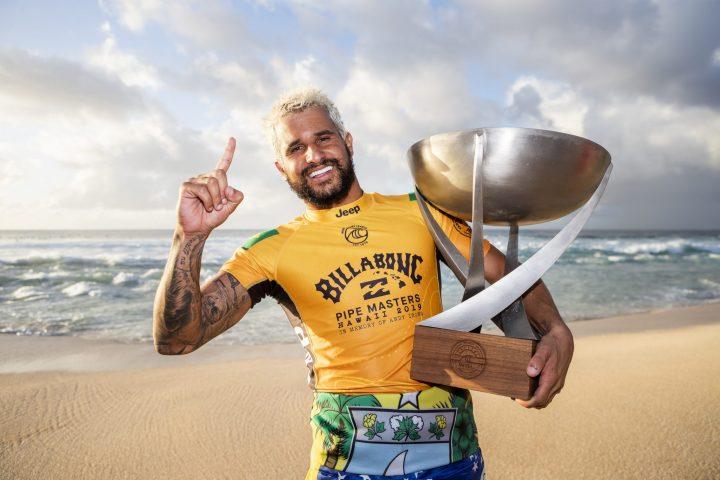 Ítalo Ferreira conquistou seu primeiro título mundial na Championship Tour da World Surf League