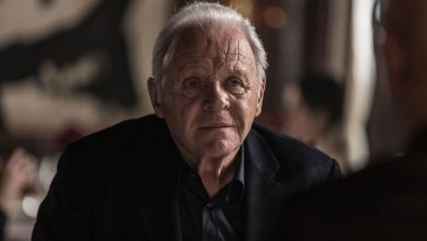 Foto de O ator Anthony Hopkins é homenageado no programa Findi Quiz