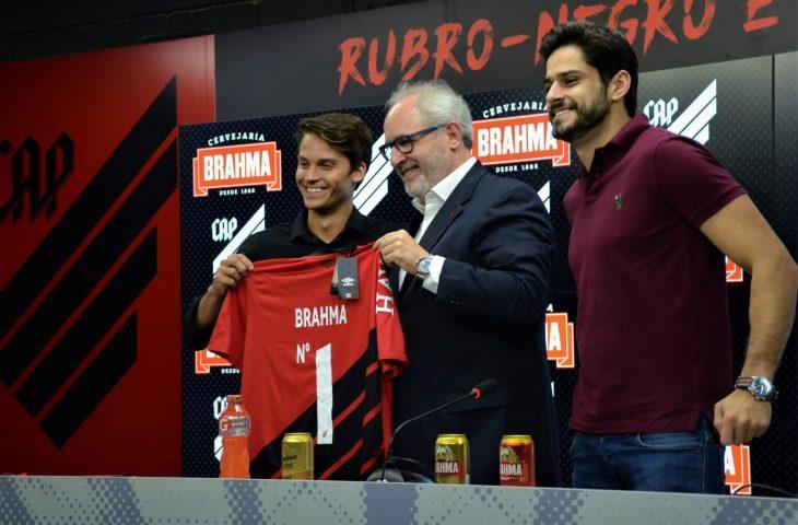 Patrocinadora Brahma fecha parceria de 10 anos com Athletico Paranaense