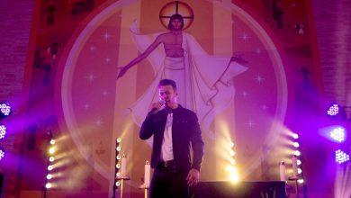 Foto de Christian Moraes grava DVD com padre Gean Medeiros