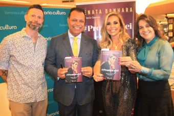 Renata Banhara lança Biografia