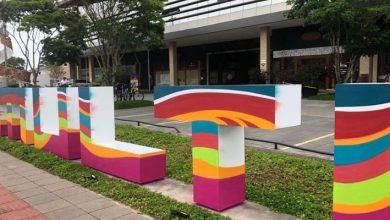 Foto de Confira como ficou o novo letreiro do MULTI Open Shopping