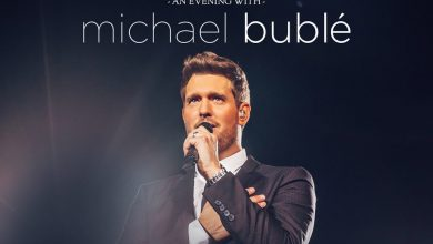 Foto de Michael Bublé de volta ao Brasil para a tour An Evening With Michael Bublé