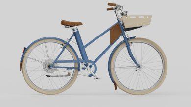 Foto de Smart bike a bicicleta elétrica conectada à internet