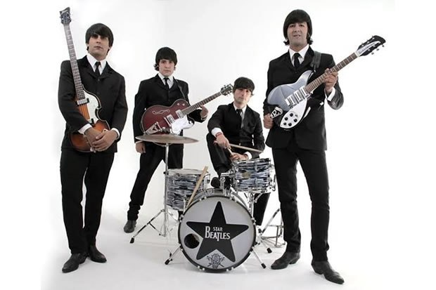 Marcos Kleine e Star Beatles em São Carlos - Vale das Águas em SC