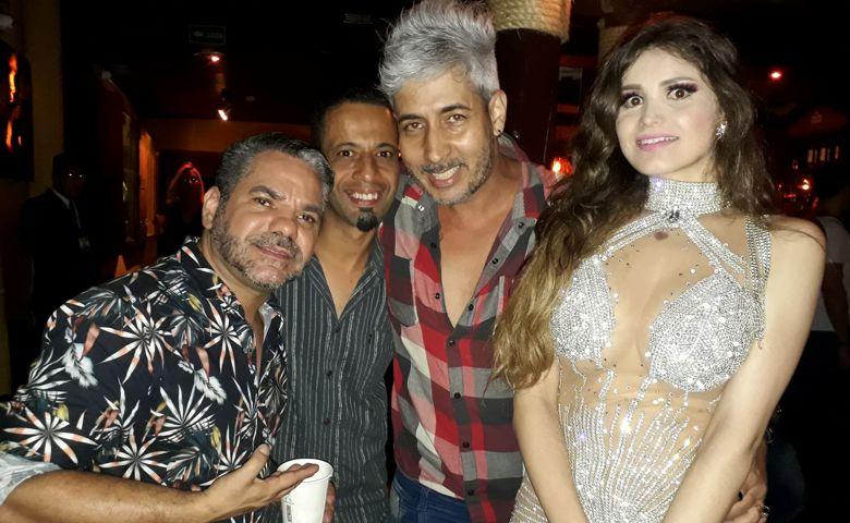 Anselmo Brito, Ivan Pereira, Stiver Pereira e Mariah Fernandes - Foto: Divulgação