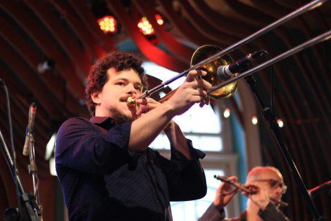 Conrado Bruno Quinteto no aniversário de SP. Foto Claudia Rangel