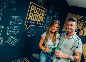 Convidados participam de ação no Escape Room. Fotos: Lorenzo Carvalho