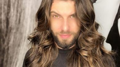 Foto de Saulo Meneghetti fica mais loiro para novo trabalho