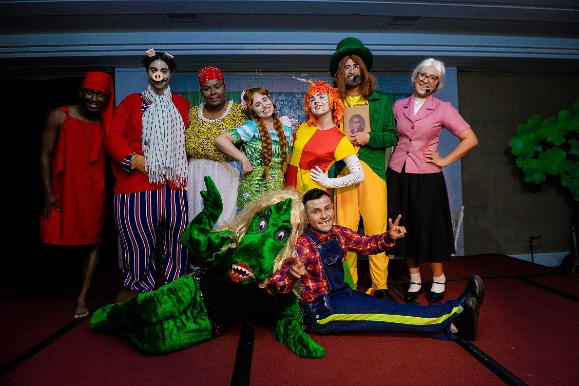 Sítio do Picapau Amarelo é tema de peça teatral encenada por colaboradores do Fazzenda Park Hotel