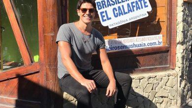 Foto de Reynaldo Gianecchini, brasileiros em El Calafate