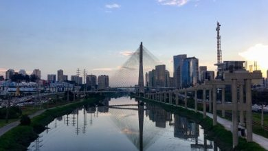 Foto de Rio Pinheiros em SP poderá ganhar versão do Puerto Madero