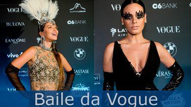 Foto de Baile da Vogue personalidades vestiram Intimissimi na festa