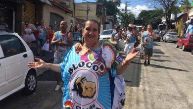 Foto de Apresentador Bolinha é homenageado em Bloco de Carnaval