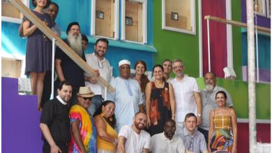 Foto de Religiosos visitam a Cidade do Samba
