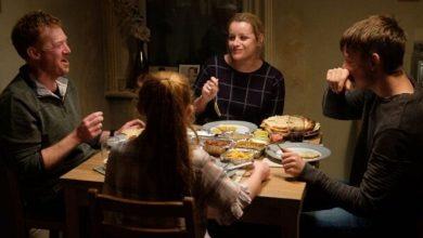 Foto de O filme Você Não Estava Aqui, que acompanha uma família em crise