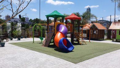 Foto de Parque infantil do Empório Vila Germânica é remontado com novidades
