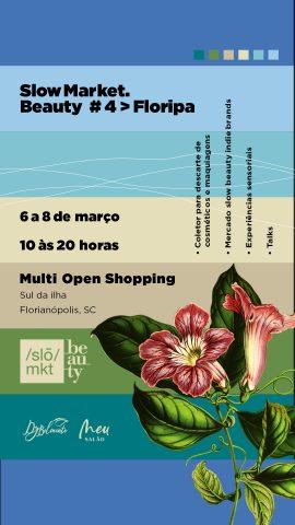 Florianópolis recebe evento de beleza natural, orgânica, vegana e cruelty free
