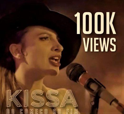Kissa alcança 100 mil views no Youtube