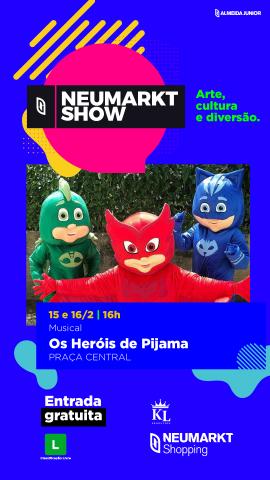 Musical 'Os Heróis de Pijama' é atração no Neumarkt. Divulgação