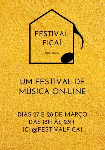 Artistas de Santa Catarina se unem para fazer o Festival de música on-line