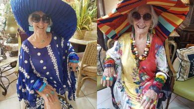 Foto de Vovó Izaura Demari será destaque  do evento Beleza Pura 2020