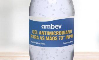 COVID-19: Ambev produzirá álcool em gel para doar a hospitais públicos