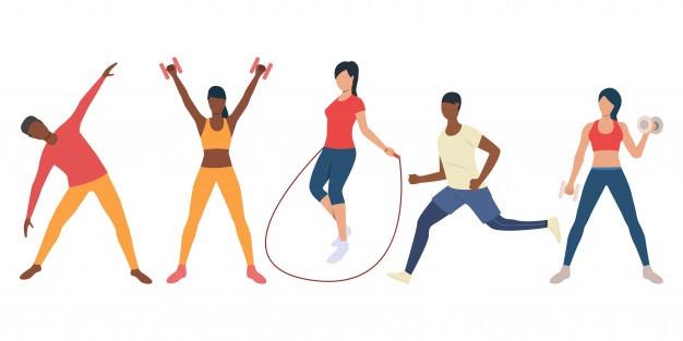 Cuidado com lesões musculares durante treinos em casa