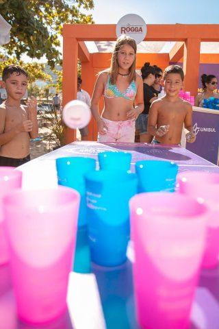 Atividades do Projeto Conexão Verão 2020 em Itajaí. Divulgação