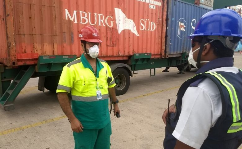 A atividade portuária é considerada essencial para o abastecimento