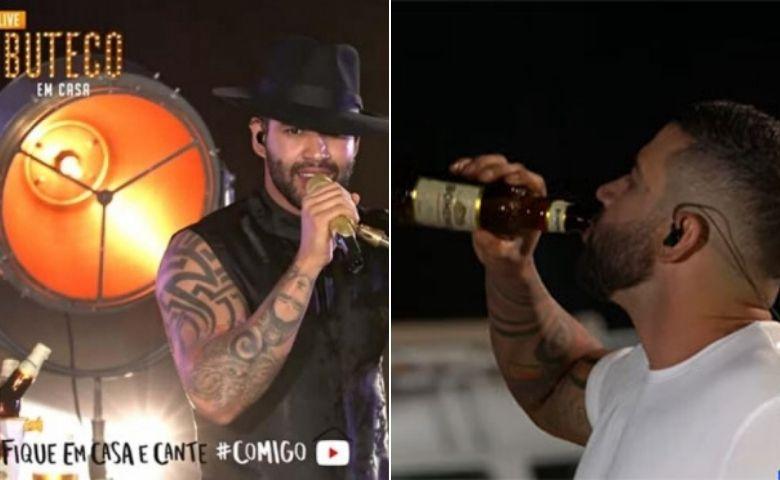 CONAR adverte cantor sertanejo por consumir álcool em live