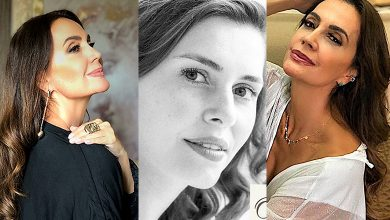 Foto de Claudia Métne entrevista cantora brasileira