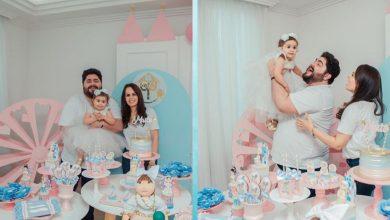 Foto de César Menotti comemora os dois anos da filha Maitê