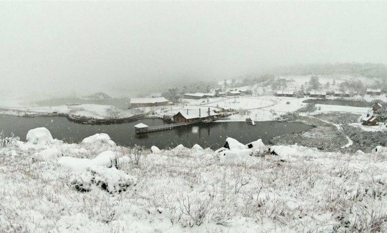 Foto de Caem as temperaturas e com previsão de neve na serra