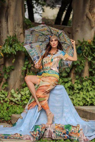 A digital influencer Claudia Métne, a arte vira moda.