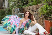 Foto de A digital influencer Claudia Métne, a arte vira moda.