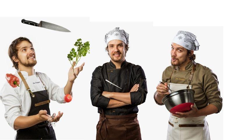 Gastronomia com o campeão do Masterchef A Revanche