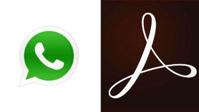 Foto de Adobe Acrobat e WhatsApp foram os aplicativos mais baixados