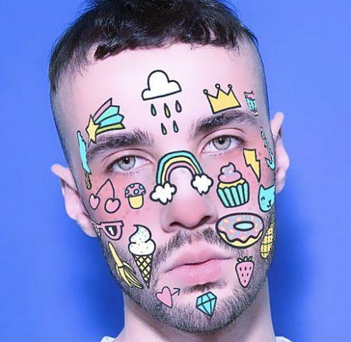 LGBT o designer das celebridades Allan Gregorio na luta preconceituosa