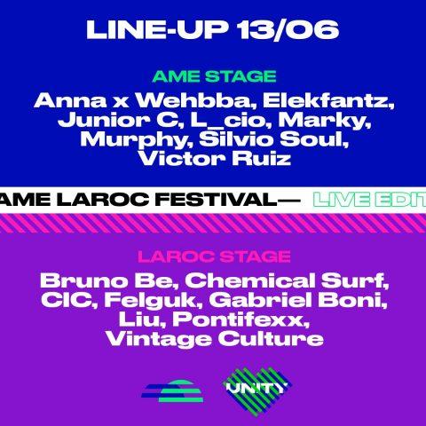 Vintage Culture no Ame Laroc Festival anuncia edição online