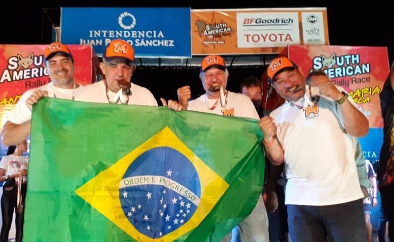 Equipe brasileira inscrita no South American Rally Race