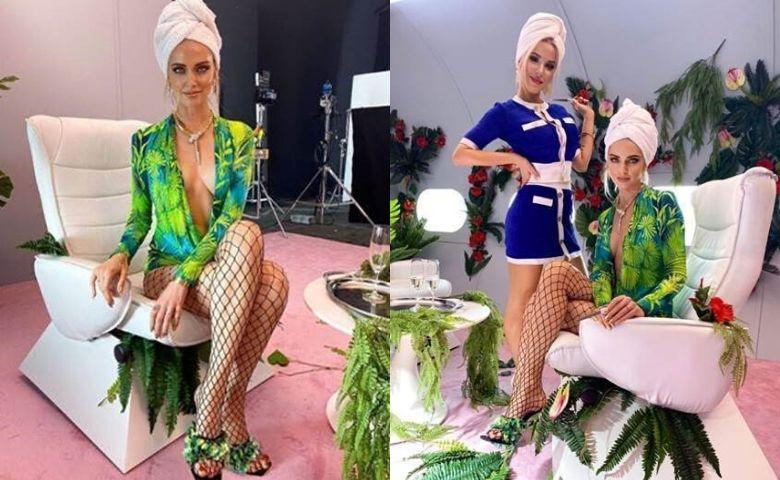 Chiara Ferragni usa colar de alta joalheria da Bvlgari