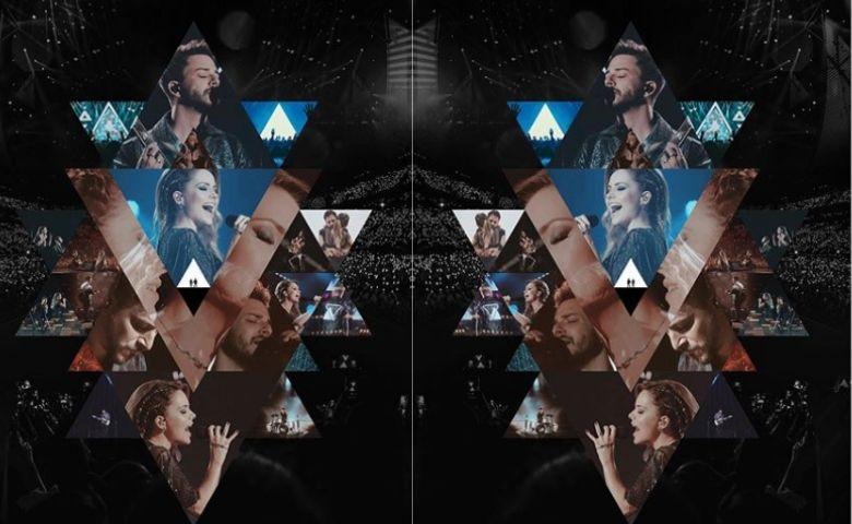 Sandy e Junior divulgam álbum ao vivo da turnê Nossa História