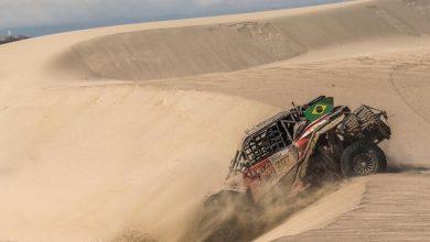 Foto de Equipe brasileira inscrita no South American Rally Race