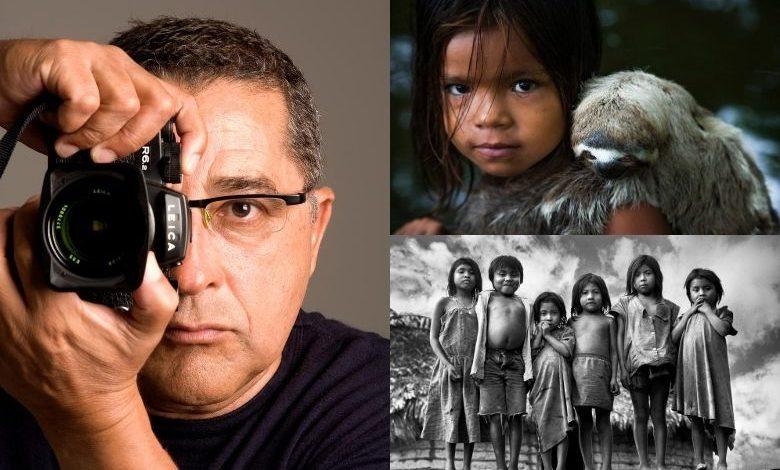 Foto de Araquém Alcântara Ícone da fotografia comemora 50 anos de carreira